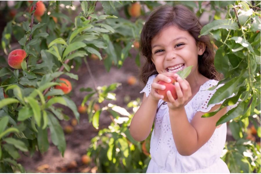 LW girl peach